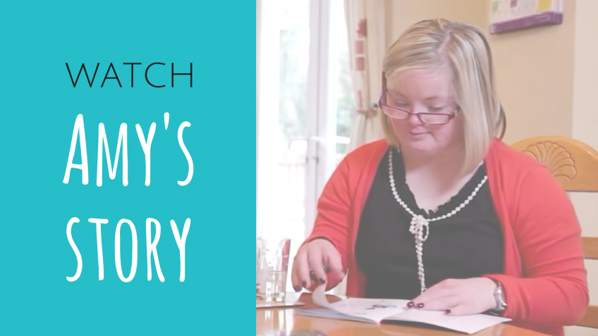 Watch Amy talk about attending the Latch-On Program