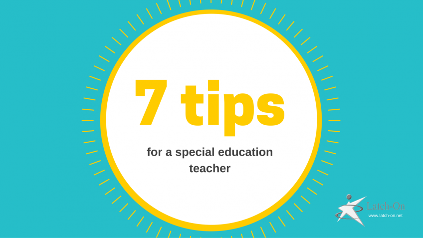 7 tips for a special education teacher