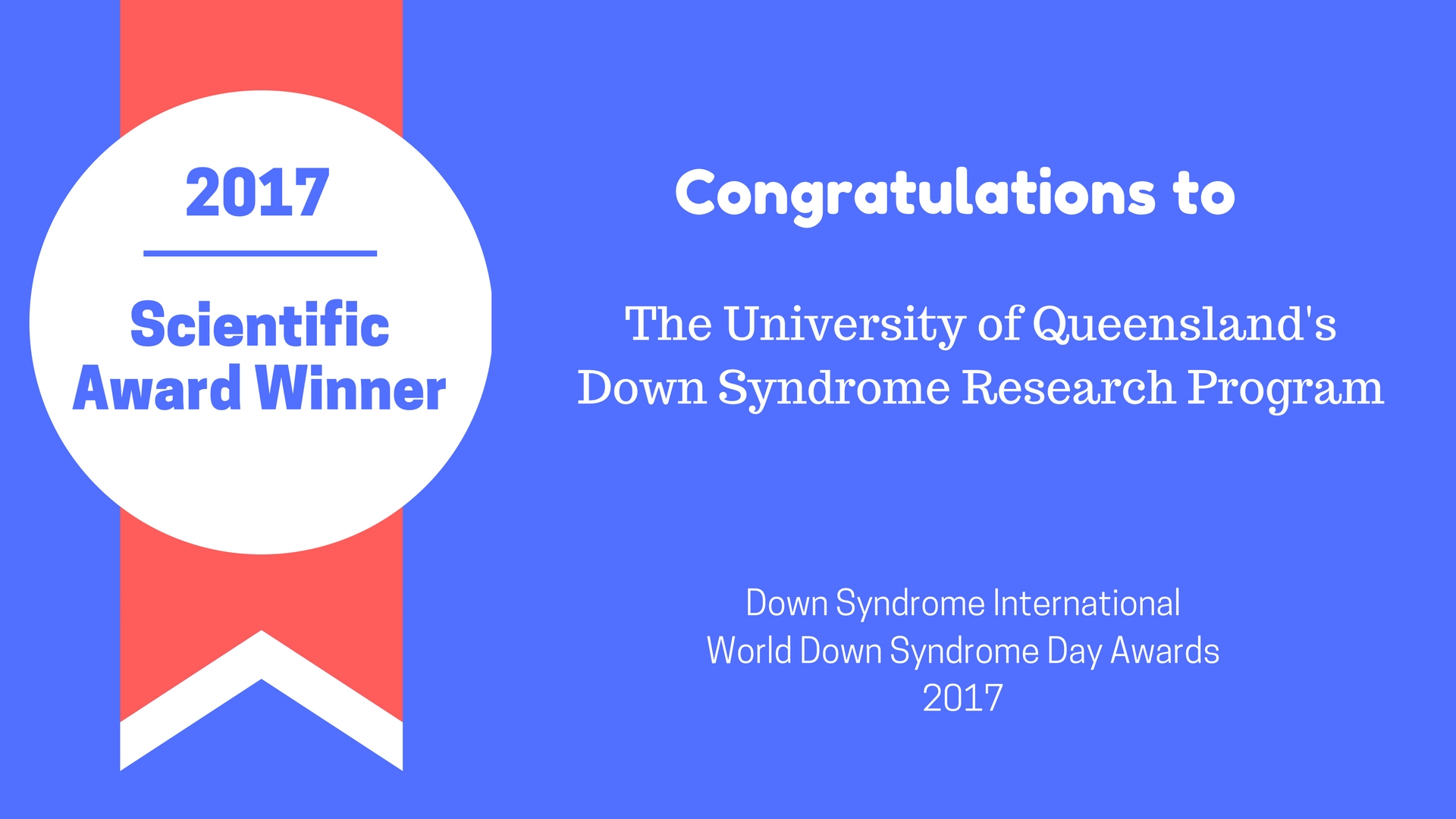 downs syndrome research paper